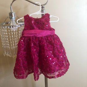 HOT PINK FANCY DRESS